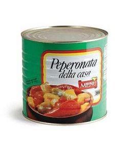 Menu Peppers Peperonata