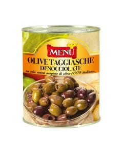 Menu Olive Taggiasche In Oil
