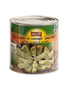 Menu Artichoke Qtrs In Oil & Herbs