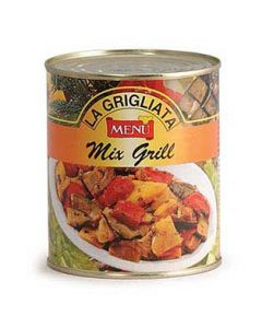 Menu Vegetable Mix Grill
