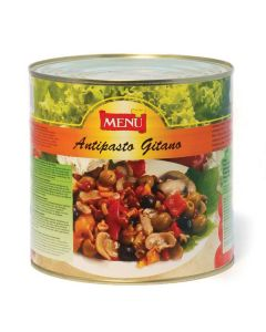 Menu Vegetable Mix Antipasto Gitano