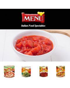 Menu Tomatoes, Diced Pulp Mmkt