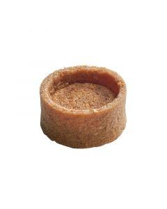 La Rose Noire Tartshell,brwn Butter Mini Rnd