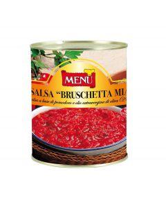 Menu Sauce Bruschetta Mia