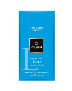 Amedei Tuscany Milk Choc Brown Latte