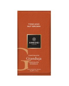 Amedei Tuscany Nut Brown Gianduja Bar