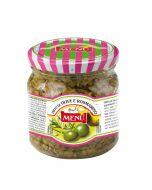 Menu Sauce Green Olive & Rosemary